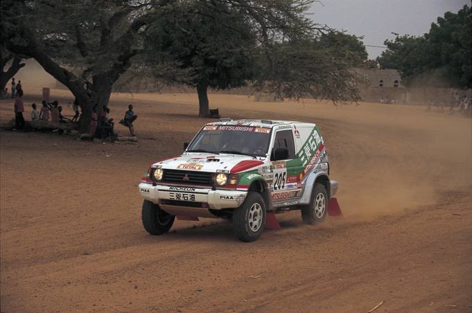 The first Japanese person to become overall winner of the Paris-Dakar Rally  DAY2